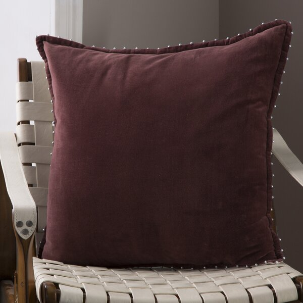 Billings Decorative 100% Cotton Throw Pillow by Eider & Ivory